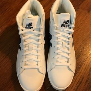 0c0bbeddeb4d New Balance Shoes - New Balance, J. Crew 891 leather high-top sneakers